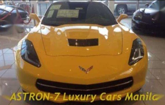 2017 Brandnew Corvette Stingray with Convertible Velocity Yellow