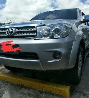 2011 toyota fortuner g manual diesel for sale