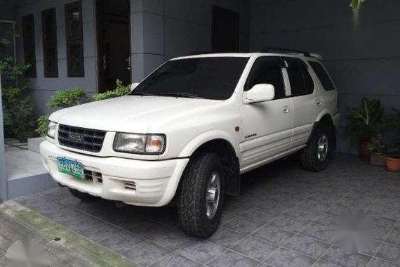Isuzu Wizard 1998 AT White SUV For Sale
