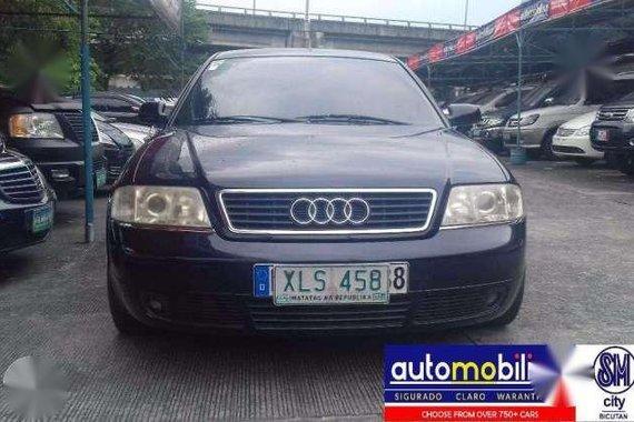 2003 Audi A6 2.4 V6 Automatic Gas - Automobilico SM City Bicutan