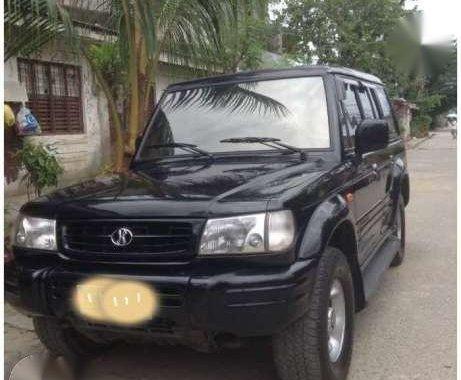 For sale 1999 Hyundai Galloper II