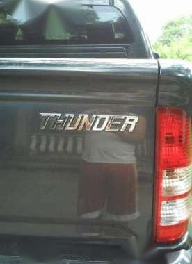 Foton Thunder 2014 MT Gray Pickup For Sale