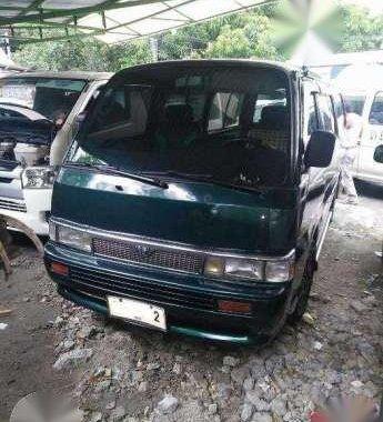 Nissan Urvan 1997 MT Green Van For Sale
