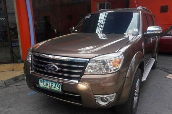 2011 Ford Everest Limited for sale