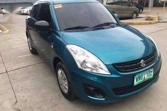 Suzuki Swift Dzire 2013 MT 1.2 Green For Sale
