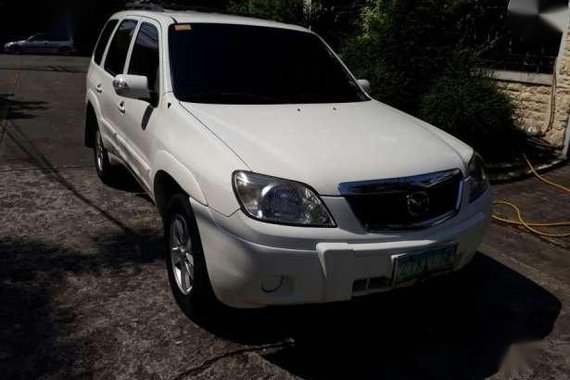 2009 Mazda Tribute 4x2 AT White For Sale