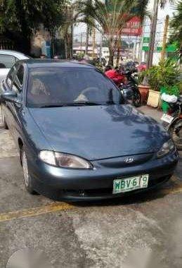 Hyundai Elantra 1999 1.6 MT Green For Sale