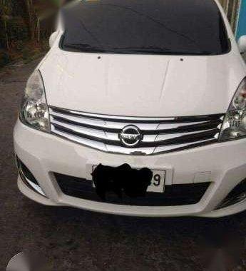 2014 Nissan Grand Livina AT White For Sale