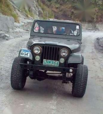 Fresh Jeep CJ7 MT 2.0 SUV Gray For Sale