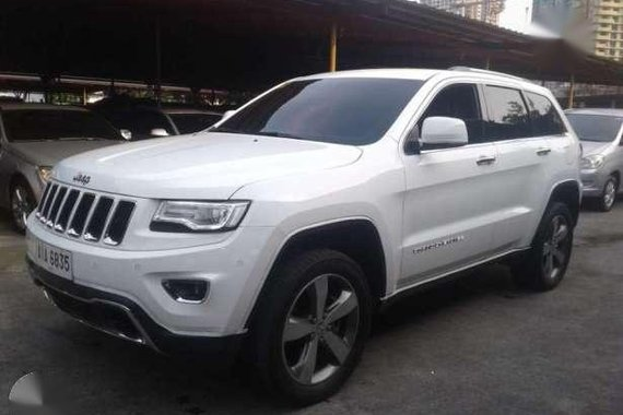 Jeep Grand Cherokee 4x4 Diesel White For Sale