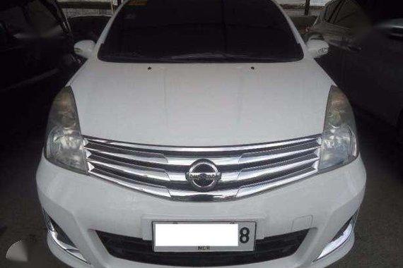 2014 Nissan Grand Livina AT Gas White (Yomel)