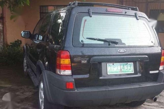 Ford Escape 4x4 6 cylinder