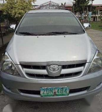 Top Condition 2006 Toyota Innova E MT For Sale