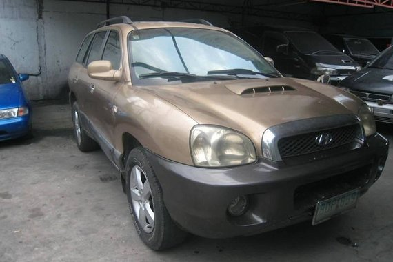 Hyundai Santa Fe crdi diesel 2003 FOR SALE