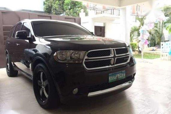 2012 Dodge Durango Crew AT Black For Sale