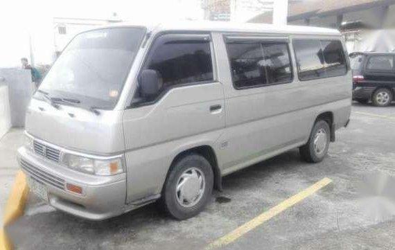 Nissan Urvan Escapade 2001 MT Silver For Sale
