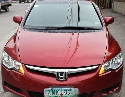 Honda Civic 2007 RED FOR SALE