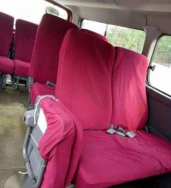 Nissan Urvan Estate 2007 red for sale
