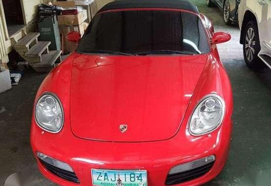 Fresh 2005 Porsche Boxster AT Red For Sale