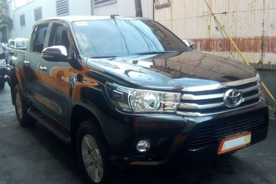 2017 Toyota Toyota Hilux G 2.4 4x2 FOR SALE