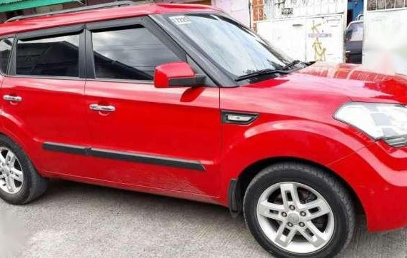 2012 Kia Soul 1.6 AT Red SUV For Sale