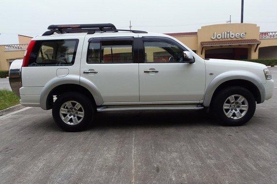 2008 FORD EVEREST XLT WHITE for sale