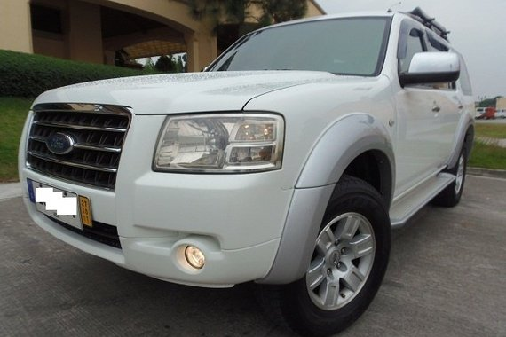 Rush Very Fresh 2008s Ford Everest XLT AT Diesel On Sale 2FAST4U
