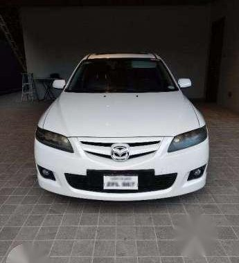 Fresh Mazda 6 2007 2.3L AT White For Sale