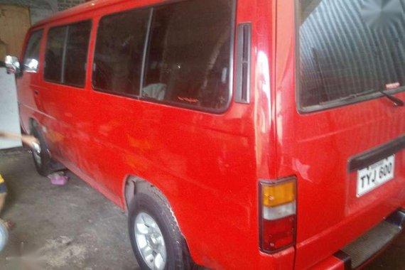 Nissan Urvan Shuttle 1997model Diesel for sale