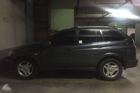 Ssangyong Kyron 2008 AT Gray SUV For Sale
