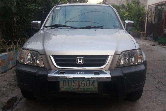 Fresh Honda Crv AT 4x4 1996 Silver For Sale