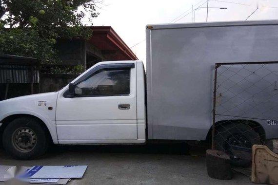 Isuzu Fuego Aluminum Van 1998 White For Sale