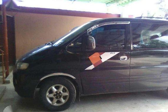 Hyundai Starex 2008 MT Black Van For Sale
