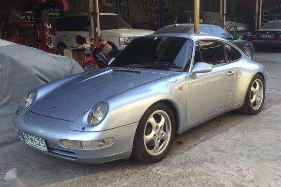 1996 Porsche 993 AT Silver Coupe For Sale
