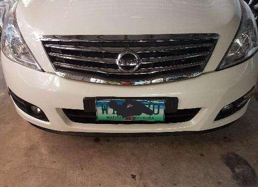 Nissan Teana 2013 V6 AT White Sedan For Sale