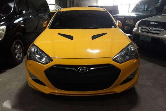 2013 Hyundai Genesis Coupe 2.0L Yellow For Sale