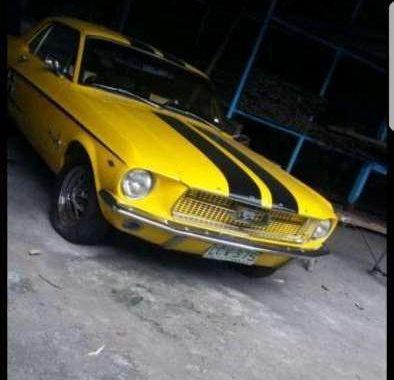 Mustang Ford original vintage car 67 model! for sale