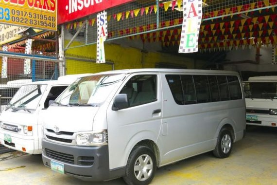 2010 Toyota Hi-Ace for sale