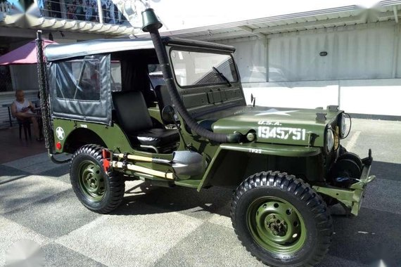 Willys Military Jeep M38 4x4