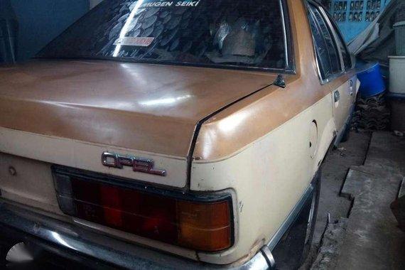 Fresh Opel Rekord Manual Beige Sedan For Sale