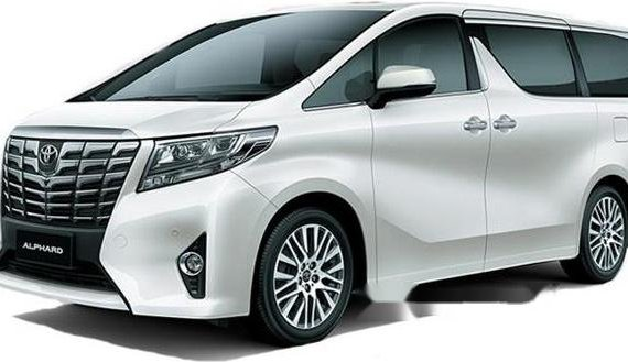 Toyota Alphard White Pearl 2018 for sale