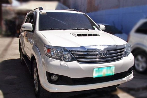 Well-maintained Toyota Fortuner 2013 for sale