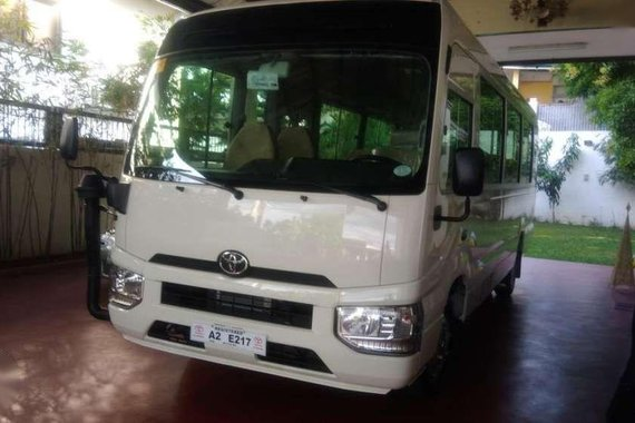 New 2018 Toyota Coaster 30 seater Turbo Diesel for sale
