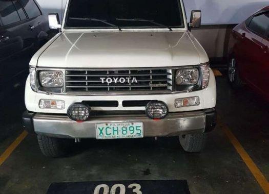 2001 Toyota Landcruiser Prado SX5 4x4 For Sale