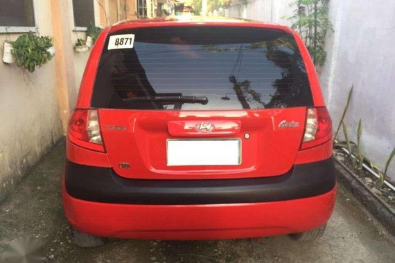 2009 Hyundai Getz Diesel Red HB All power For Sale