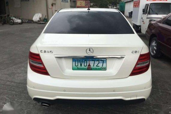 2013 Mercedes Benz C220D for sale