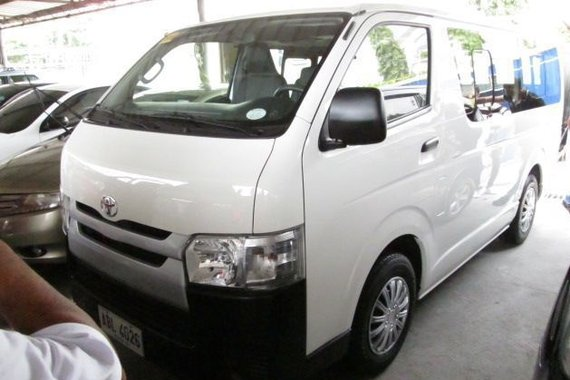 2015 Toyota Hi-Ace Commuter for sale