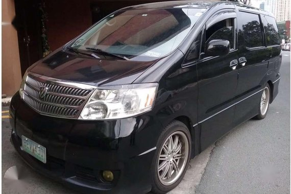 Toyota Alphard 2003 in Good Condition-P350K Cash FOR SALE