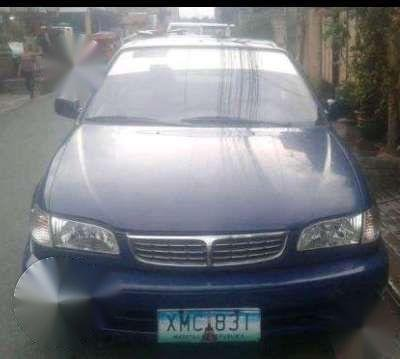 2003 Toyota Corolla Lovelife Manual Blue For Sale