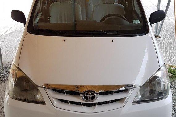 Toyota Avanza 2008 1.3J M/T (White) for sale